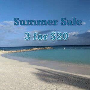 SALE 3 FOR $20 for any items listed $11 or less..